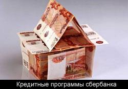 Кредитные программы сбербанка как